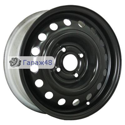 Trebl 53B35B R14 / 5J PCD 4x98 ET 35 ЦО 58.6 Штампованные Черный