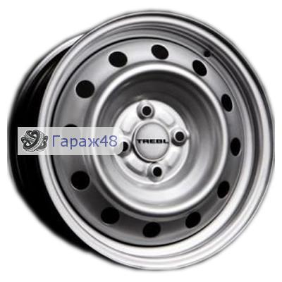 Trebl 6565 R14 / 5.5J PCD 4x100 ET 45 ЦО 56.6 Штампованные Серебристый